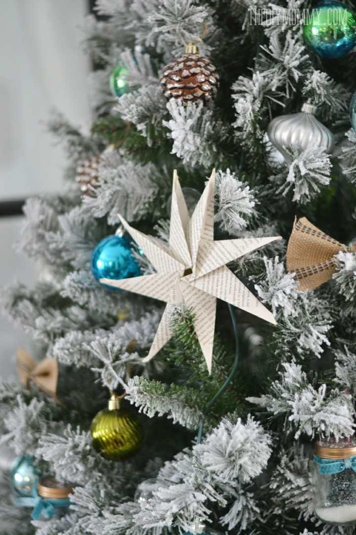 adornos arbol navidad color blanco