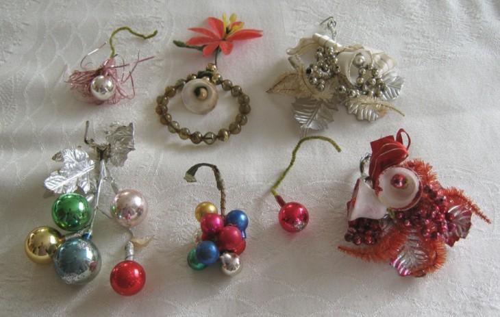 adornos retro arboles de navidad