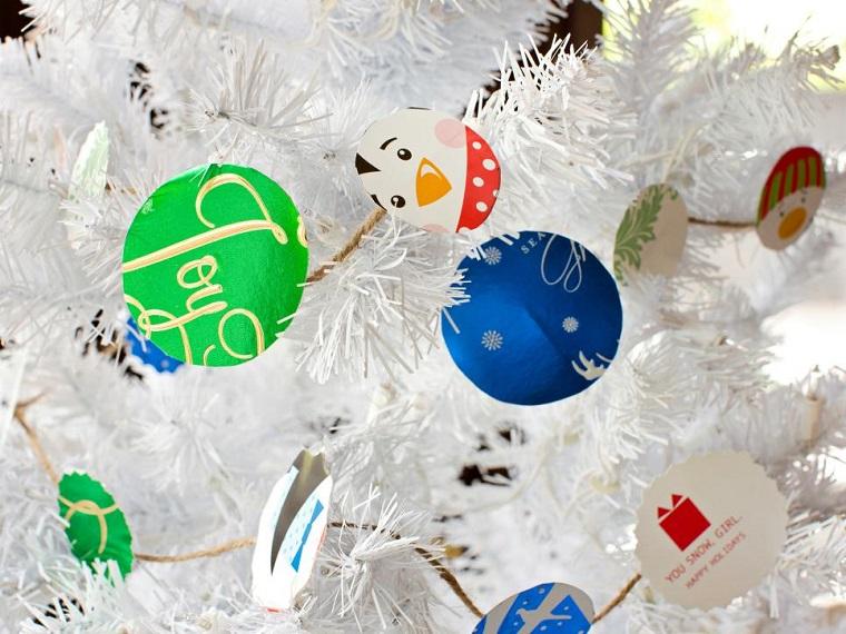 adornos cartulina manualidades navidad