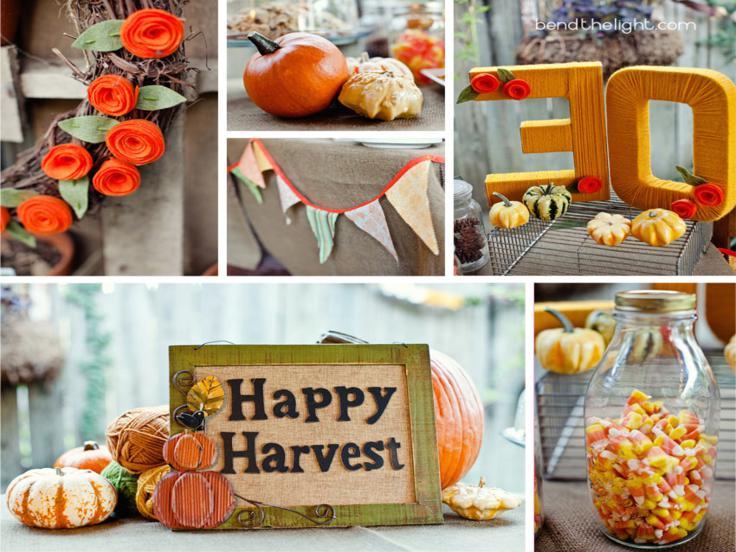 adornos cocina motivos otoño deco