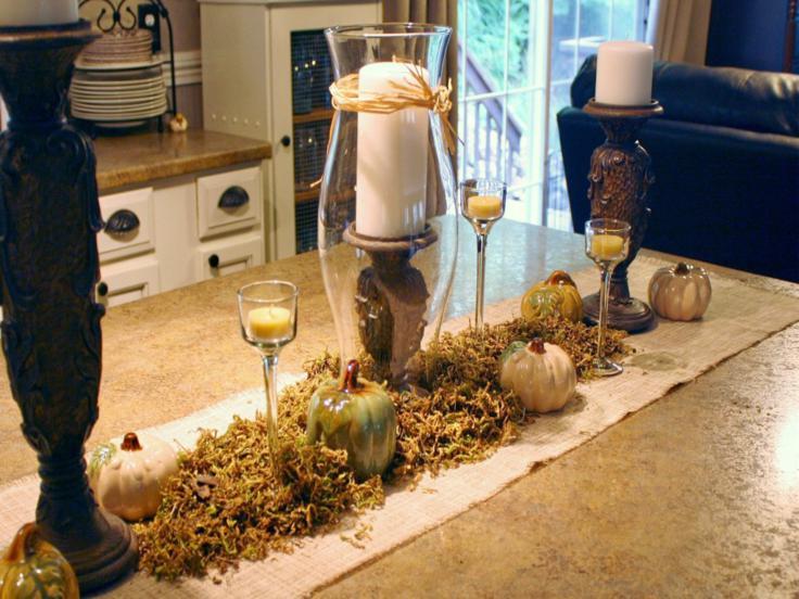 adornos decoraciones de cocinas otoño