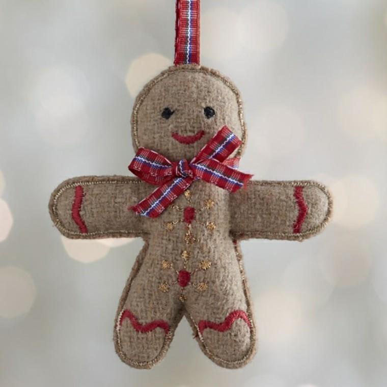 adornos decorativos navidad tejido hombre ideas