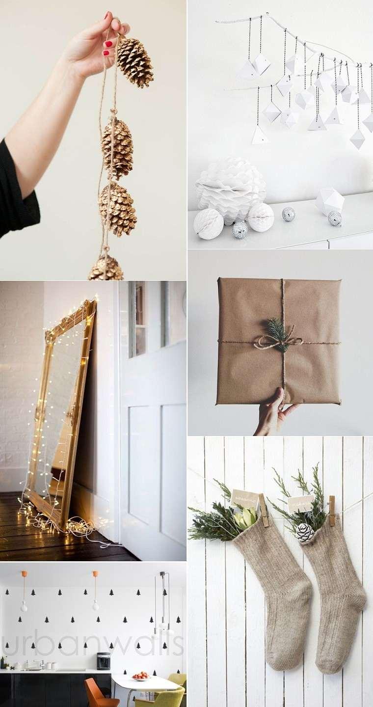 adornos navidad ideas de decoracin al estilo minimalista