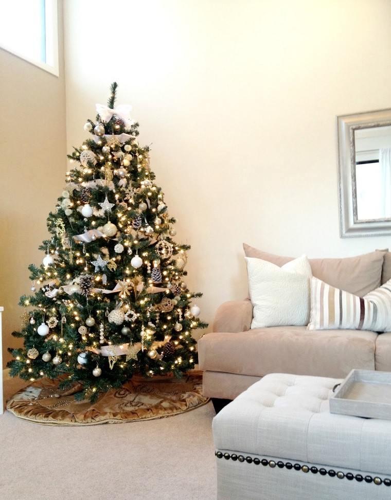 adornos navidad estilo mininalista inspiracion decracion moderna