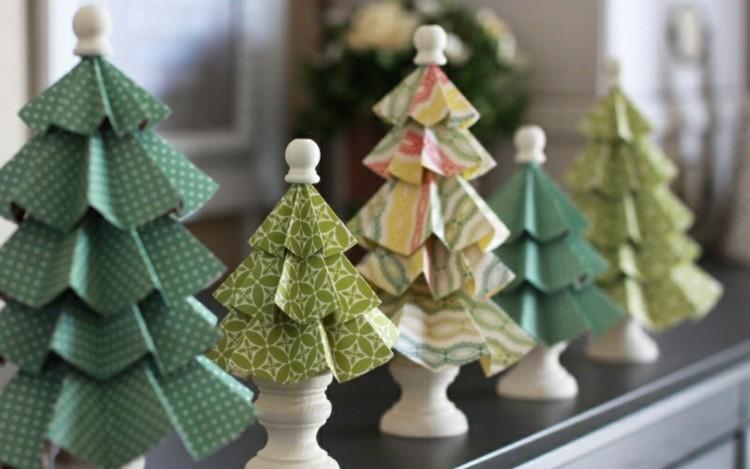 adornos navideños caseros creativos arboles