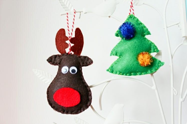 adronos navideños tela colores