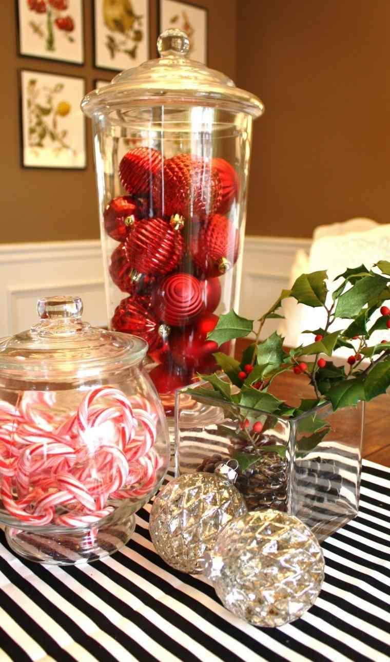 Adornos navide os ideas sencillas para hacer en casa - Adornos de mesa navidenos ...