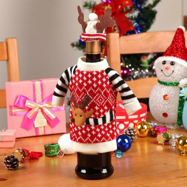 Adornos navide os tejidos de lana para decorar la casa - Manualidades en lana ...