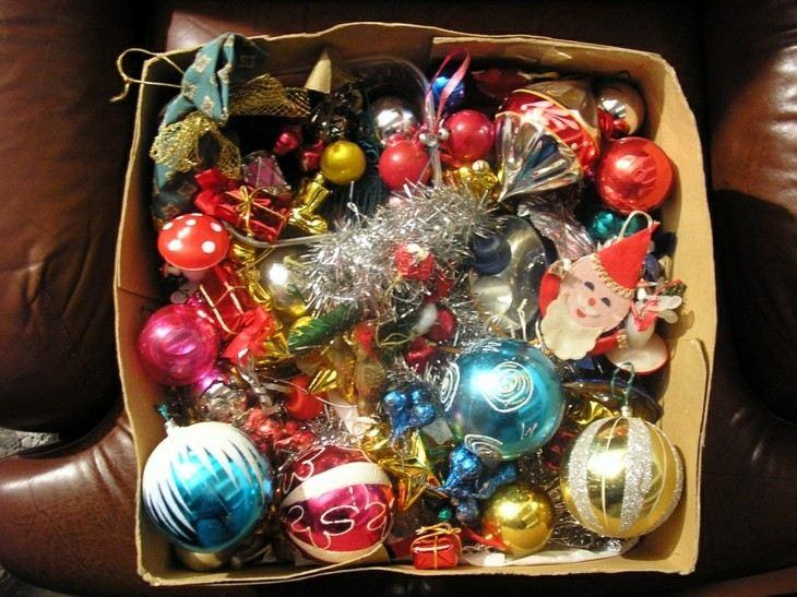 adornos arboles de navidad viejos retro