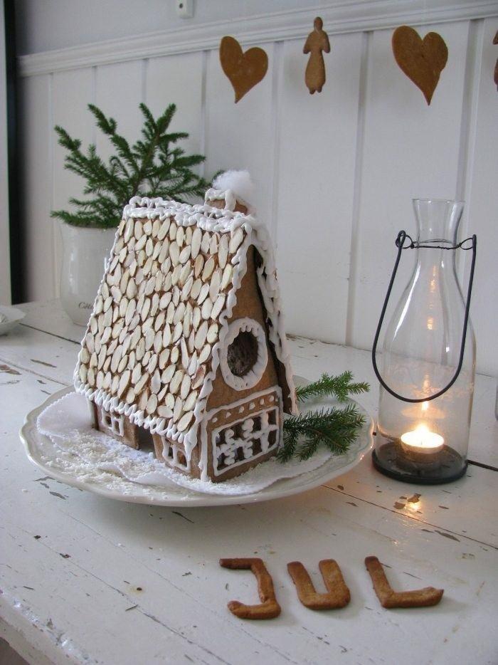 adornos navidad casita jengibre deco