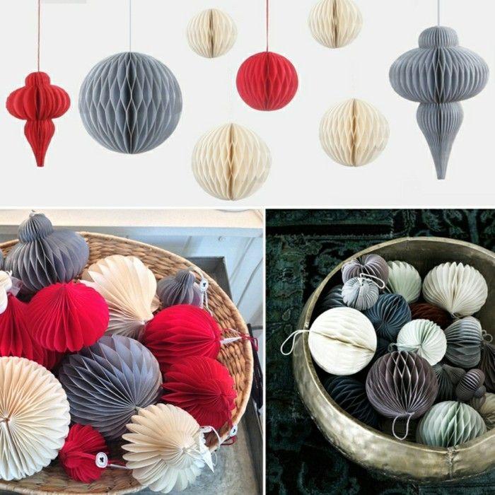 adornos navidad estilo nordico bolas