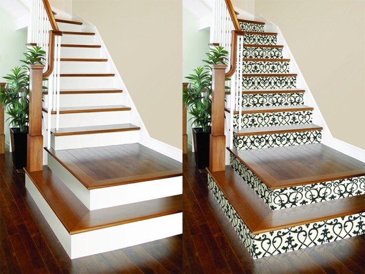 Escaleras De Interior Con Decoración Otoñal 38 Ideas