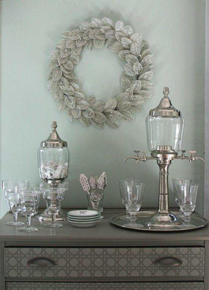 adornos estilo retro gris claro