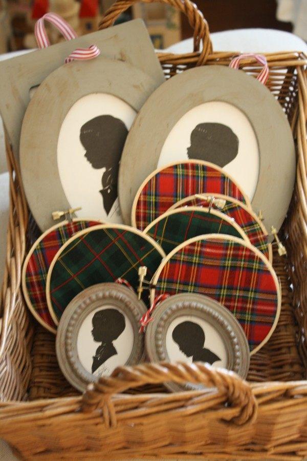 adornos tela motivos escoceses