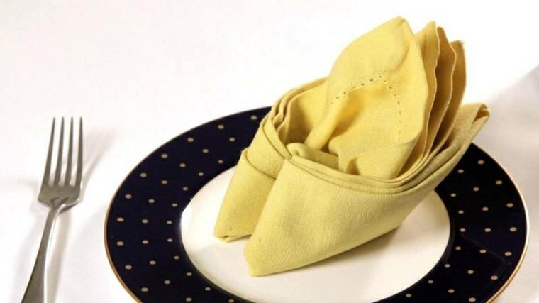 amarillo mesa ideas casa bordes