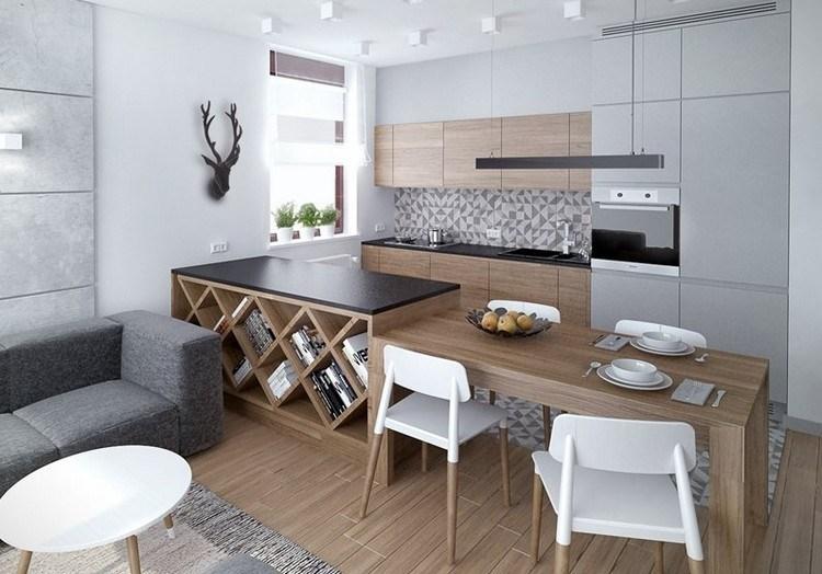 encimeras de cocina ideas ciervo diseño grises