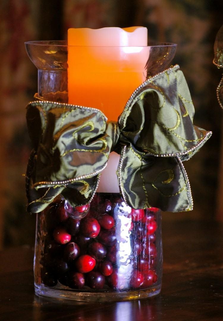 arandanos rojos estilo variante elegante velas