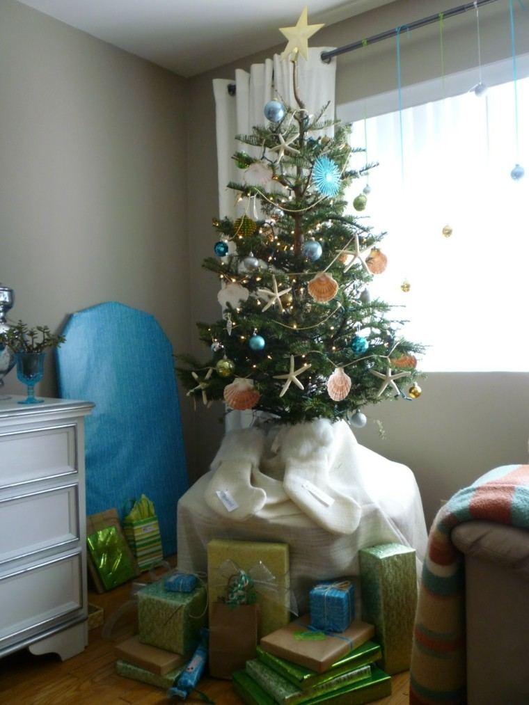 arbol navidad colorido estetica habitacion ventanas