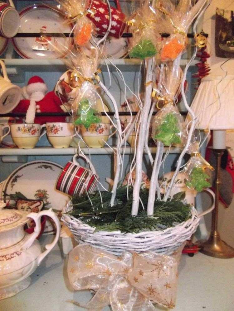 arbol rustico ideas sombrero ramas