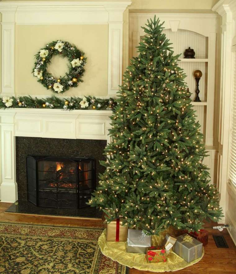 arboles navidad ideas adornos navidenos luces moderno