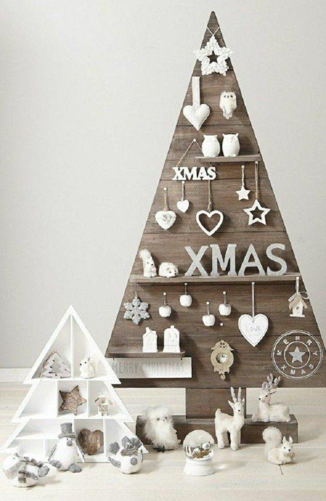 Arboles De Navidad Artesanales Una Alternativa Ecologica - Arbol-de-navidad-artesanal