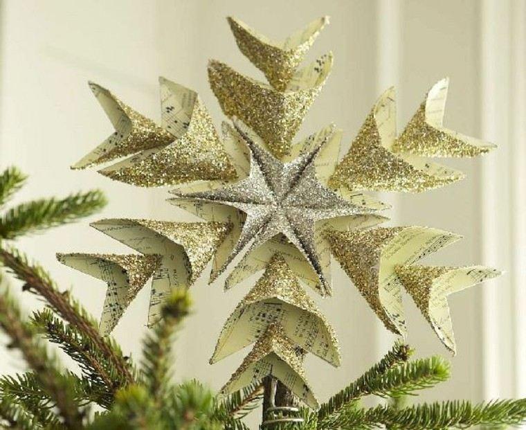 Arboles de navidad originales creando topes diferentes for Christbaumspitze selber basteln