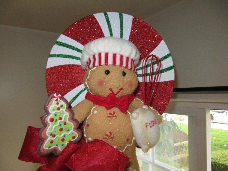 arboles de navidad originales ideas muñeco tejido infantil
