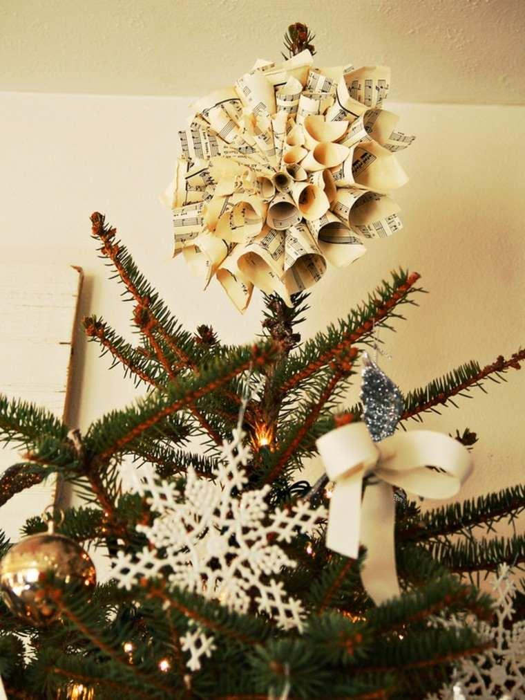 arboles de navidad originales ideas papel conos