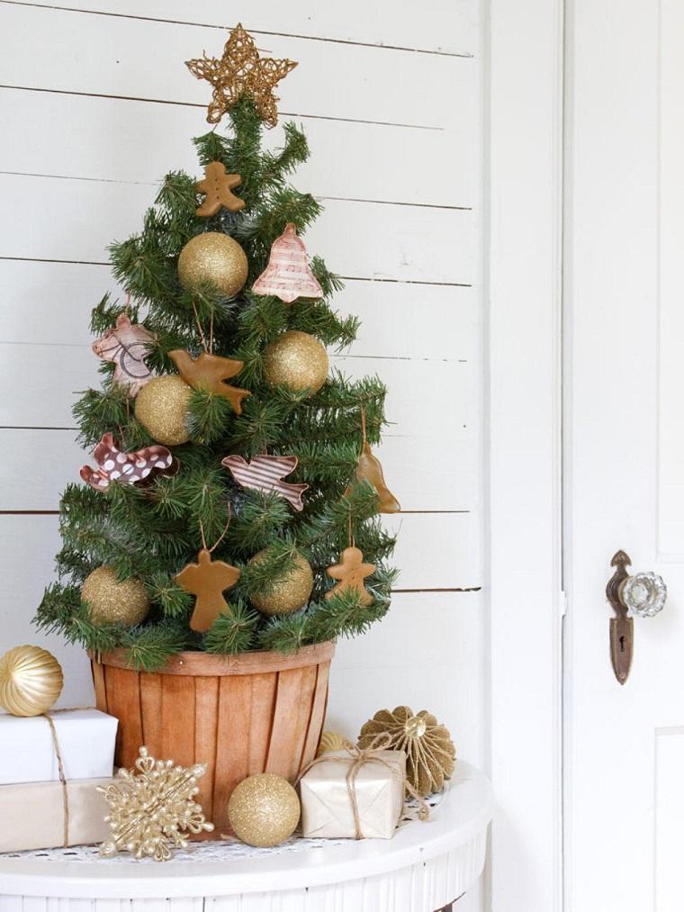 Arboles de navidad decoraci n de mesa con rbol peque o - Comprar arboles de navidad decorados ...