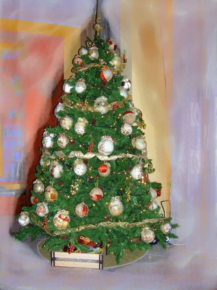 arboles navidad ideas adornos navidenos bonito retro