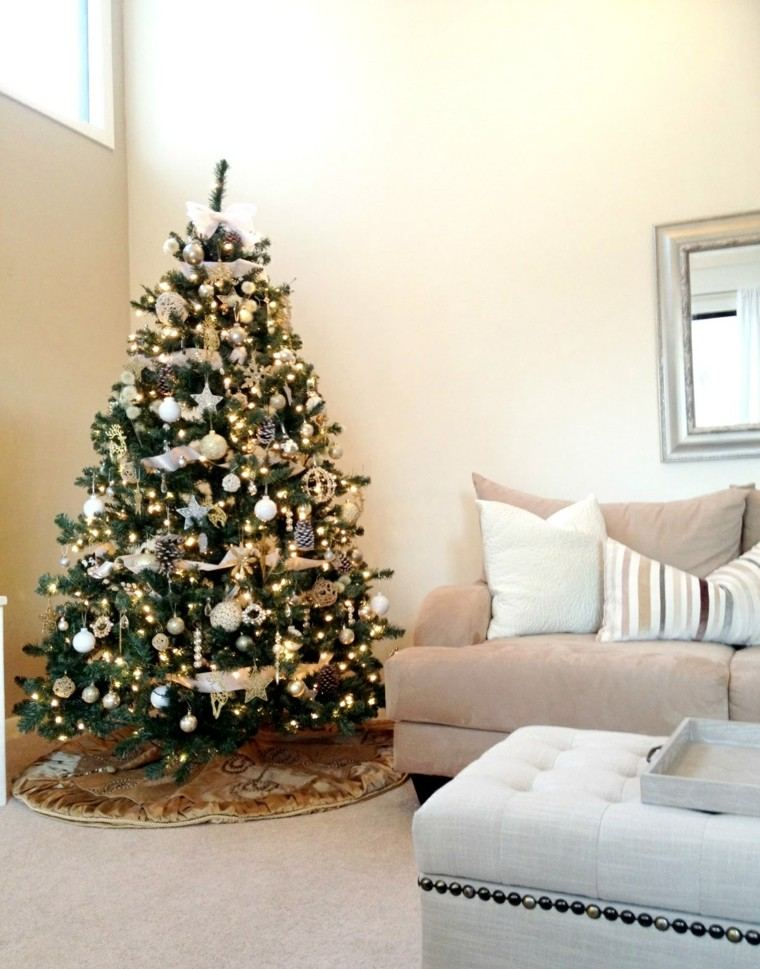 arboles navidad ideas adornos navidenos fantastico piñas