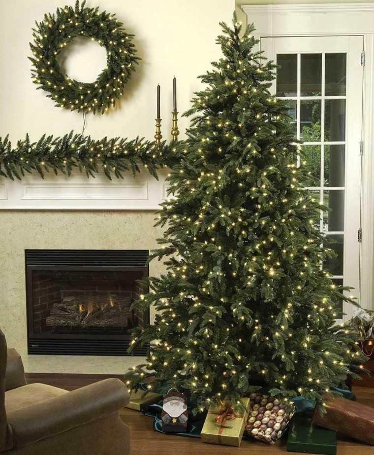 Arboles de navidad ideas de adornos para el rbol artificial - Luces arbol de navidad ...