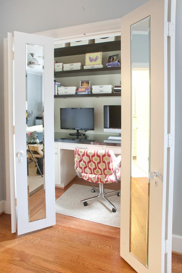 armario integrado escritorio mesa