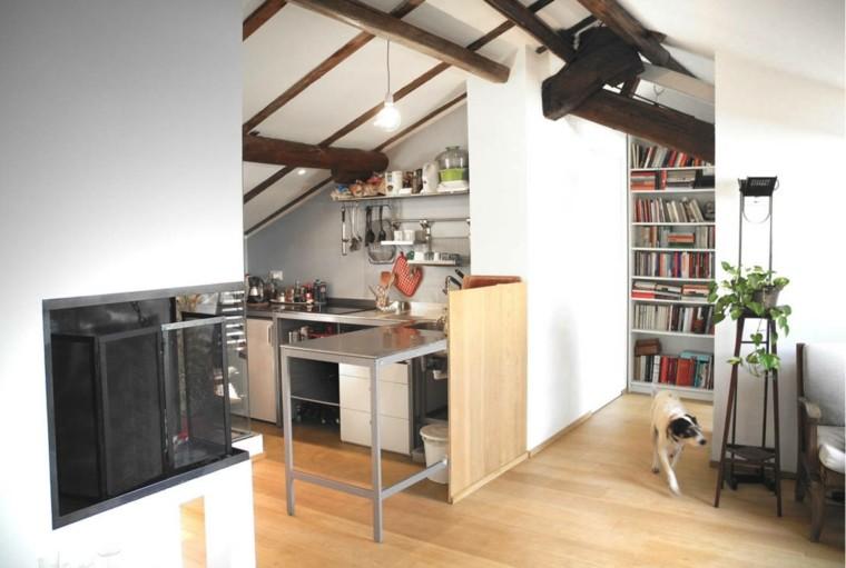 arquitectura casas techo abovedado moderno cocina ideas