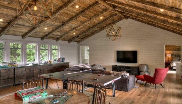 Arquitectura casas con techo abovedado muy modernas for Techos de madera para casas