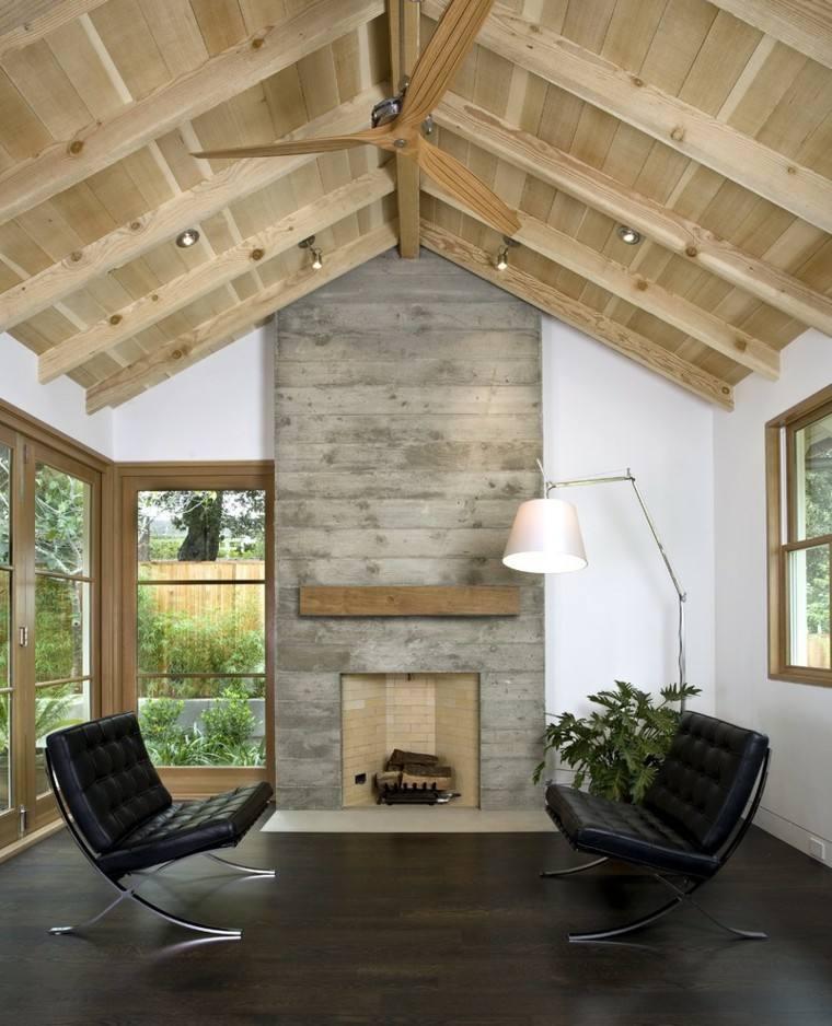 casa techo abovedado moderno salon atractivo ideas