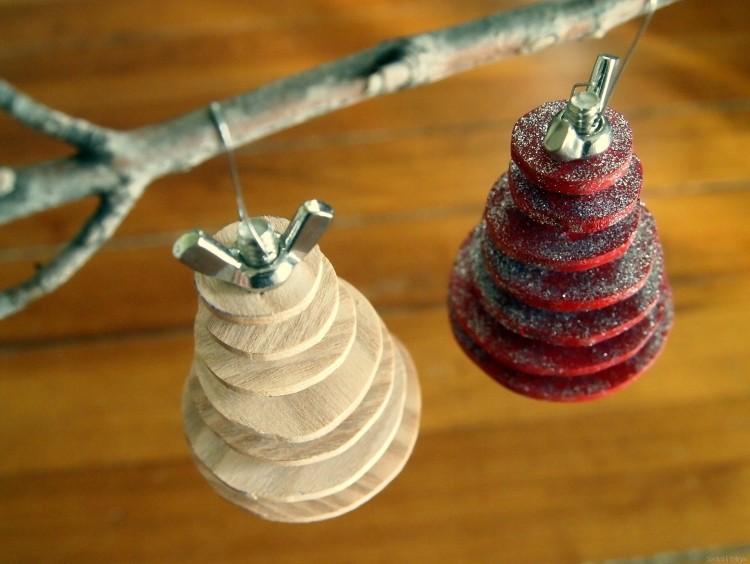 artesania diy cubiertos ramas madera