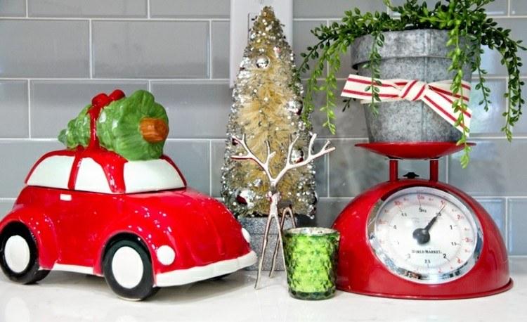 cocinas navidad moda elegante suelo