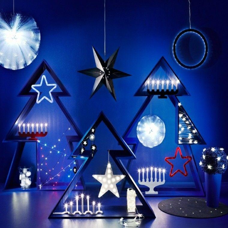 azul fondo moderno diseño estrella