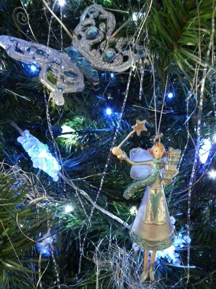 azul y plata ideas decoracion elegante mariposa cuentos