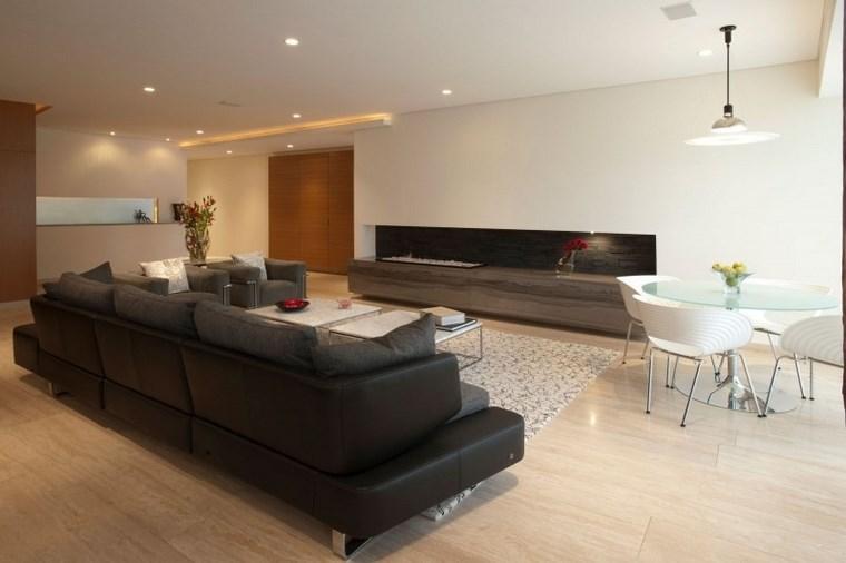 Azulejos travertino 75 ideas de para suelos y paredes - Suelos de casas modernas ...