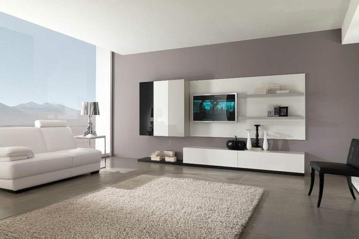 baldosas salón grandes color gris