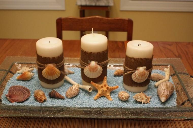 bandeja convertida candelabro precioso velas ideas
