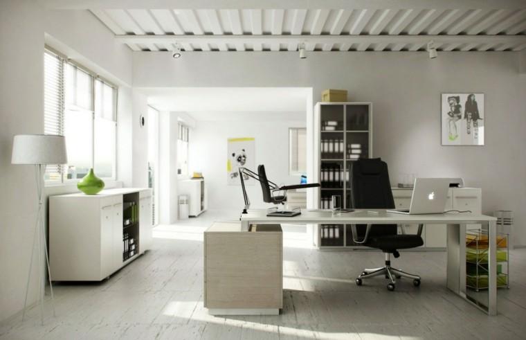 blanco relajante metal paredes lamparas