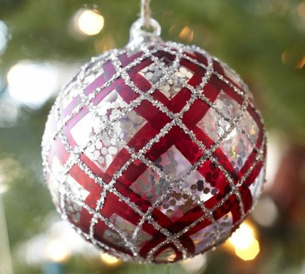 bola navidad motivos escoceses