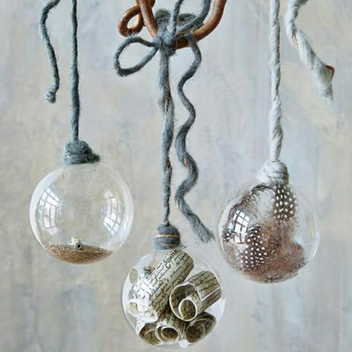 Decoracion nordica para esta navidad 38 ideas for Bolas de cristal decorativas