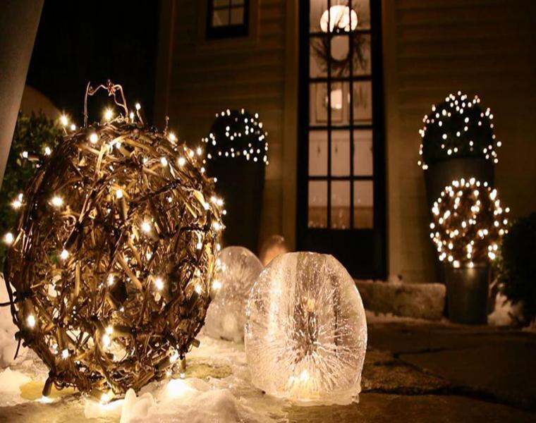bolas luces
