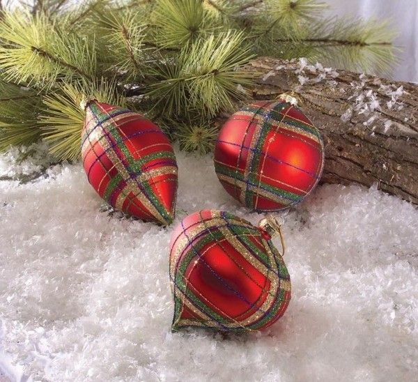 bolas navidad color rojo