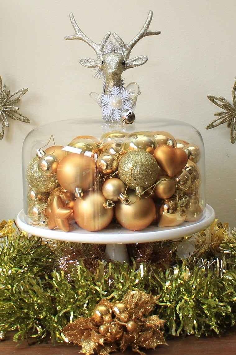 Color blanco oro y plata ideas para los adornos navide os - Decorar en navidad la casa ...