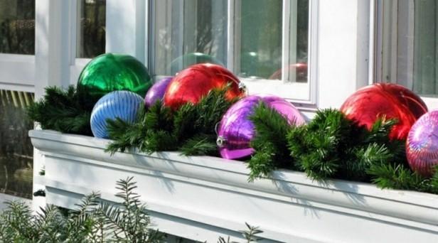 bolsas navidad decorar terraas colores